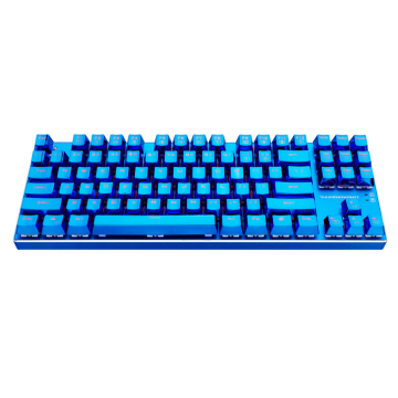 雷神K750C蓝血人87键机械键盘-青轴