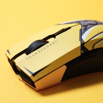 【联名款】雷神无线游戏鼠标ML703-大黄蜂